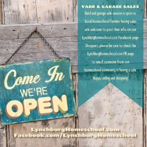 Yard & Garage Sales